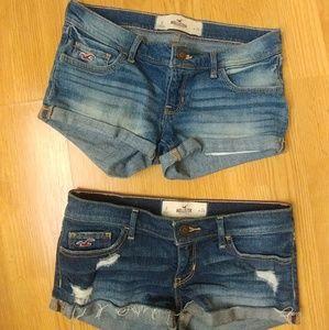 2 Hollister shorts